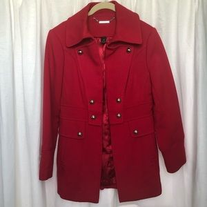 Passion Red Winter Jacket